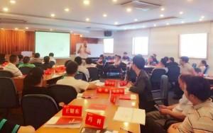 著名互联网思维培训师讲师刘杰克老师做客浙江杭州为上海健保科技讲授互联网思维转型课程
